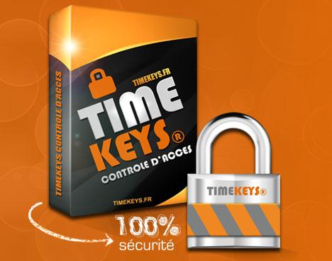 Pack TimeKeys® Contrôle d'Accès