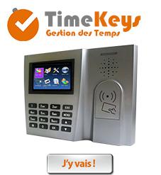 Timekeys - Gestion des Temps