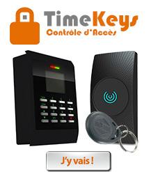 TimeKeys Contrôle d'Accès
