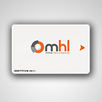 Badge carte de crédit pour pointeuse TimeKeys