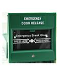 Bouton ouverture d'urgence contrôled 'accès