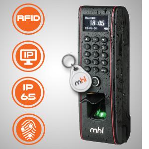 Contrôle d'Accès Électronique biométrique et RFID TK 1700