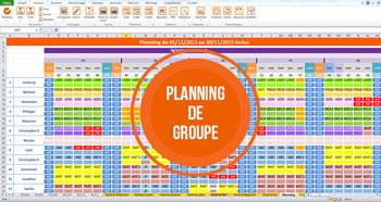 Planning de groupe