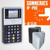 Sonnerie sur IP et PoE