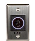 Bouton exit sortie contrôle d'accès électronique
