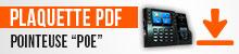 Plaquette PDF Pointeuse PoE