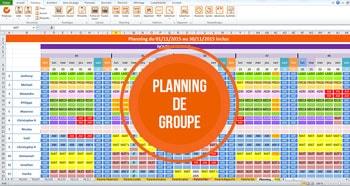 Planning de Groupe - TimeKeys Gestion des temps