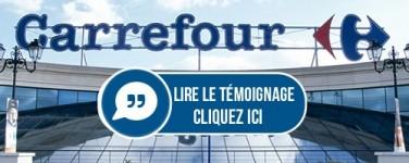 Témoignage Carrefour Service Clients - Pointeuse TimeKeys