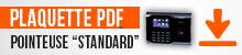 Plaquette PDF Pointeuse Standard