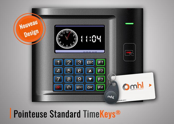 Pointeuse standard TimeKeys