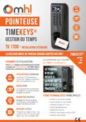 Plaquette TimeKeys standard mini