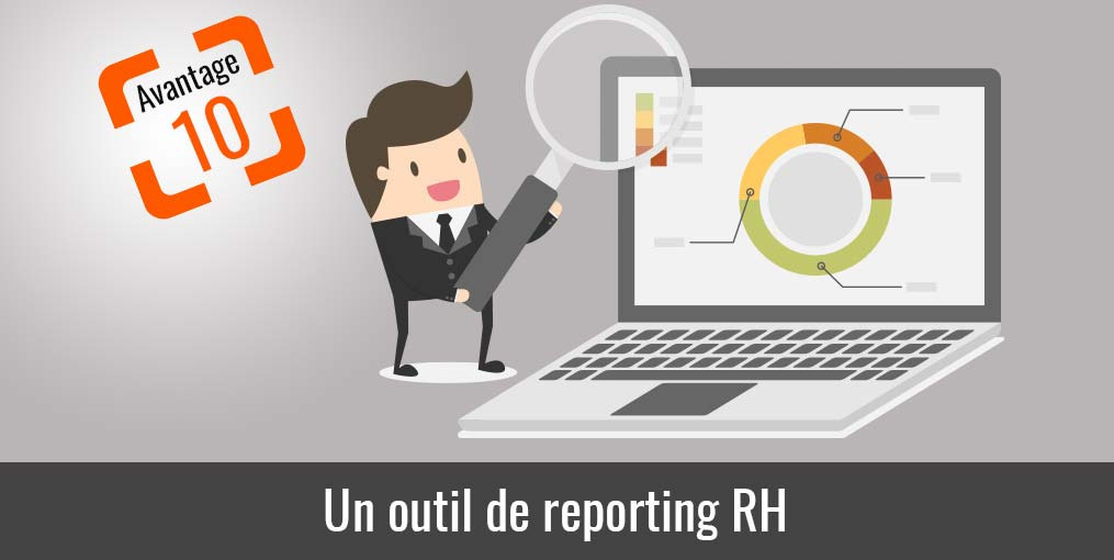 Pointeuse reporting rh