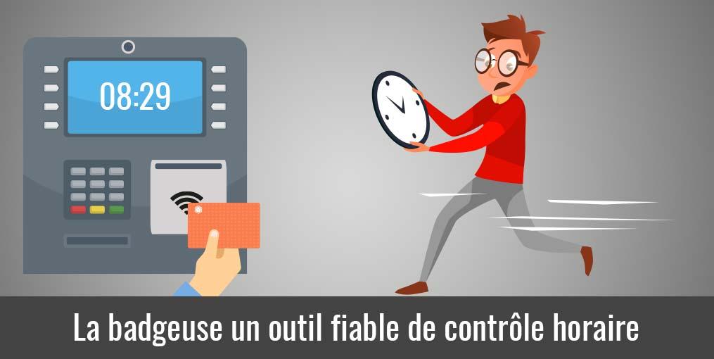 Badgeuse une solution fiable de contrôle des horaires