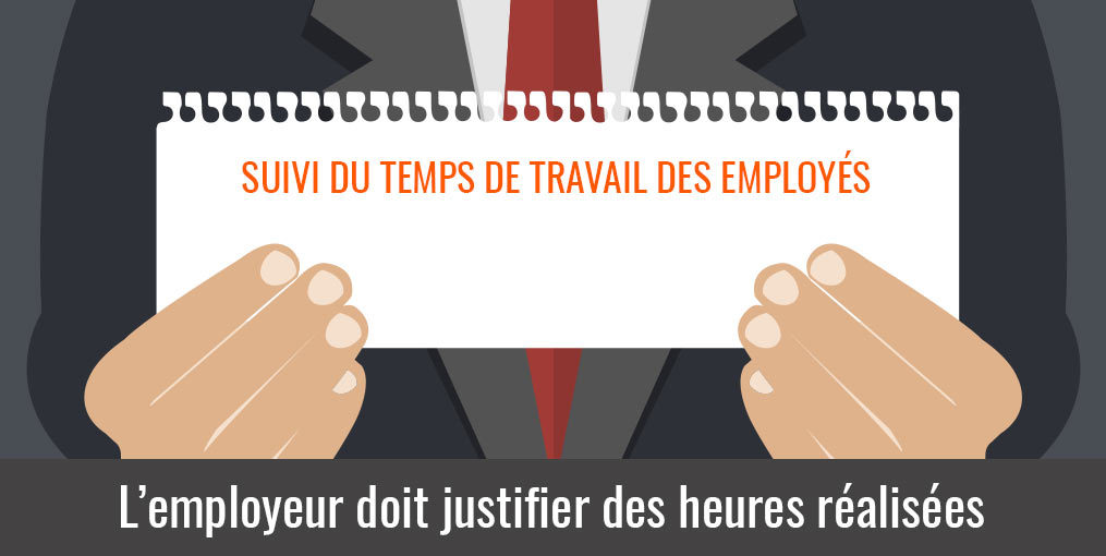 obligation employeur pointage horaire