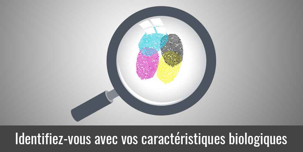 La biométrie identification bilogique