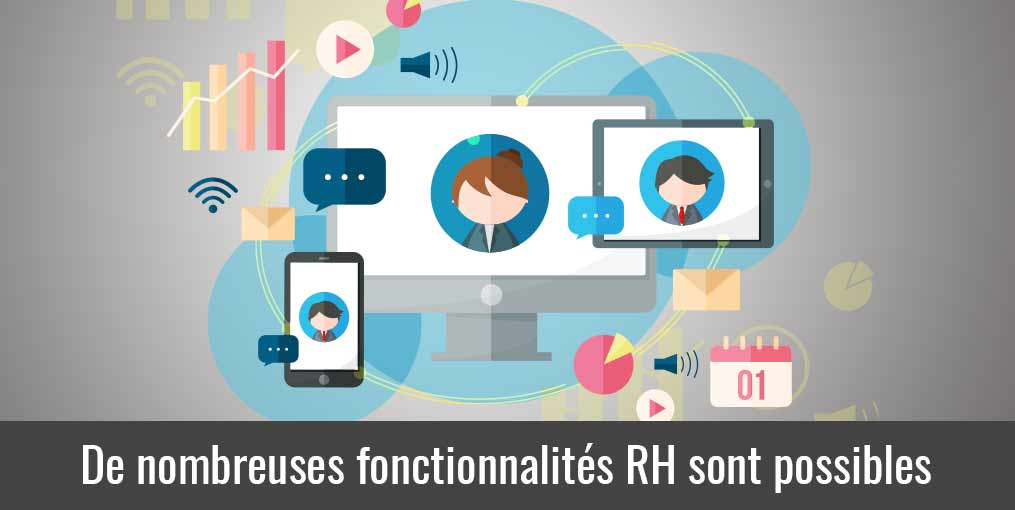 La gestion des temps propose des fonctions RH