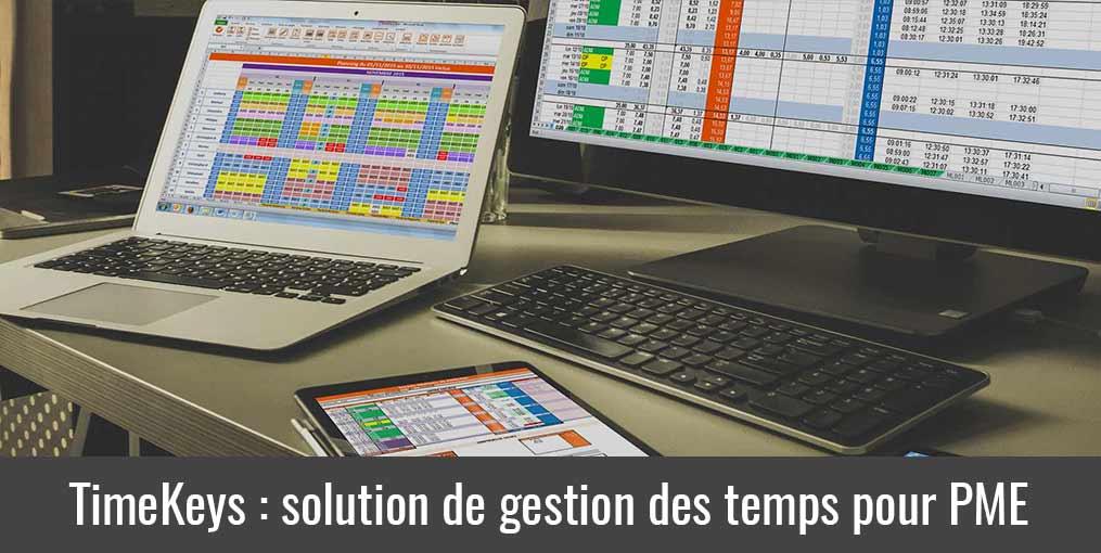 Logiciel gestion des temps pour PME : TimeKeys