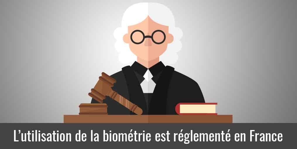 L'utilisation d'une pointeuse biométrique est réglementée en France