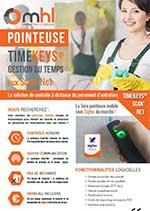 Plaquette TimeKeys Scan'Net