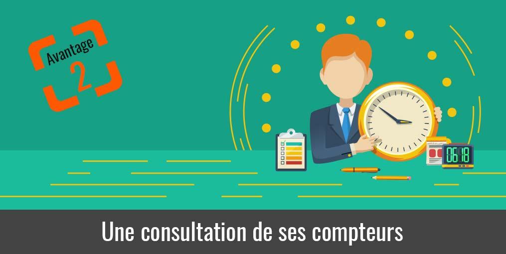 consultation des heures et des congés