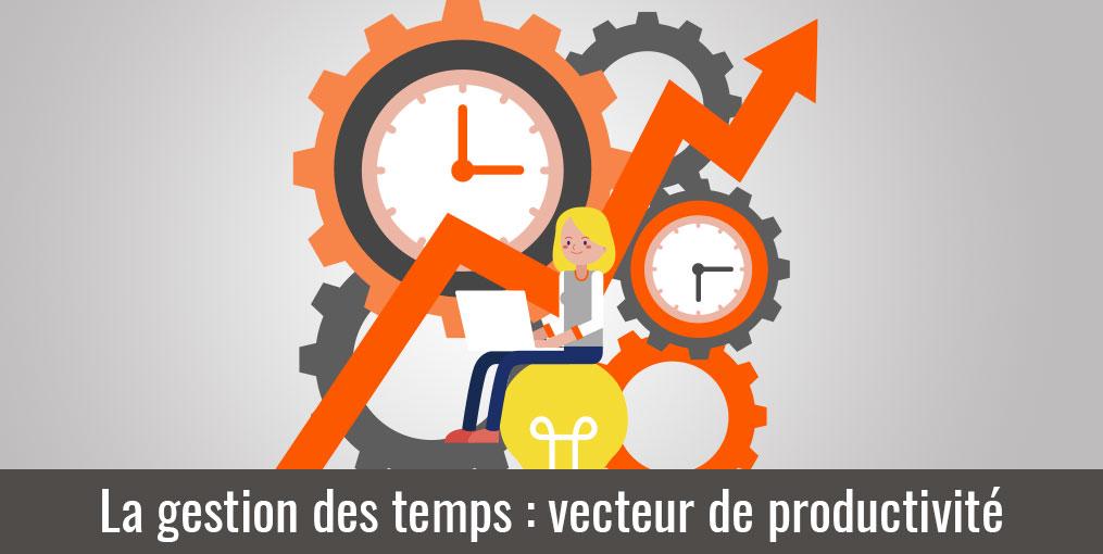 La gestion des temps est un vecteur de productivité