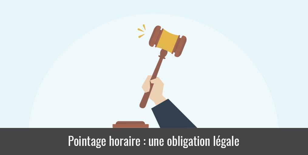 Pointage heure travail : une obligation légale